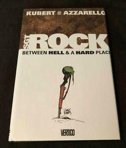 DC Vertigo SGT ROCK BETWEEN HELL & A HARD PLACE  HARDCOVER KUBERT AZZARELLO