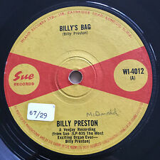 Billy Preston ‎ Billy's Bag UK Sue R&B