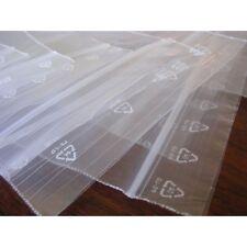 LOT 500  sachets pochette plastique zip 50x70 5x7  f