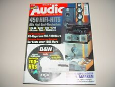 AUDIO Hifi Zeitschrift Heft 6/1998 ohne CD