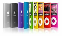 Apple iPod Nano 4th Generation All GB 8GB & 16GB - Used - Tested - All Colors