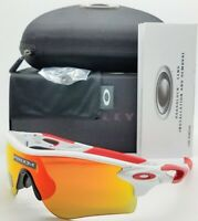 NEW Oakley Radarlock Path sunglasses White Prizm Ruby 9206-46 AUTHENTIC Asian FT