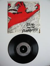 "Echo & The Bunnymen las imágenes en mi pared zoológico 7"" SINGLE VINILO matriz A1/B4 Exc"