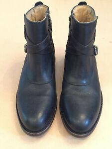Immaculate Women's FRYE Jayden black matte ankle boots Size 8.5