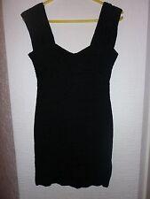 Ladies size 10 black dress River Island