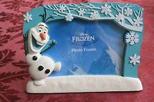 """Disney Frozen Characters Olaf Winter Scene Kids Photo Picture Frame 4"""" x 6"""""""