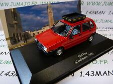 macchina 1/43 IXO Altaya TAXI del monde : FIAT UNO Casablanca 1995