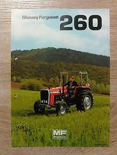 Original Traktor Massey Ferguson Prospekt  Traktor 260