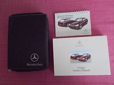 MERCEDES-BENZ C-CLASS SALOON & ESTATE (2000 - 2004) HANDBOOK - MANUAL. ACQ 5056
