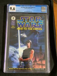 STAR WARS HEIR TO THE EMPIRE #1 (1995) 1st GRAND ADMIRAL THRAWN, CGC 9.6