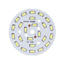 12W Round 5730 SMD Lamp Plate 24 LED Super Bright LED Chip Light LED Bulb W3V1