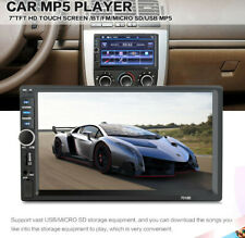 7 Inch 1080P 2DIN Buletooth Vehicle Car MP5 Player Touch Screen Stereo Radio HD