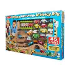 Melissa & Doug Deluxe Multi-Vehicle Activity Rug Item# 93085