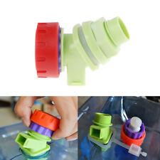 Knob Type Plastic Water Faucet Tap Replacement for WaterTank Bucket WineBottleBL