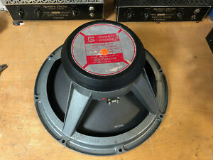"Vintage 1960's Vox Goodmans Audium 18-P 18"" 8 ohm musical instrument speaker"