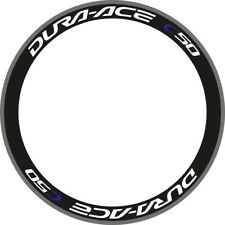 DURA ACE C50 RIM DECAL SET  FOR TWO WHEELS with BLUE C