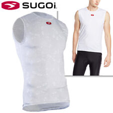 Sugoi RS Sleeveless Base Layer Jersey Cycling - White - M L XL