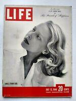 Life Magazine July 12 1948 Small Town Girl Pattie Nelson Cover Longmont Colorado