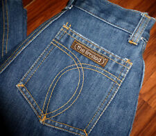 VINTAGE 80'S THE LIMITED HIGH WAIST TAPER SLIM STRAIGHT JEANS 7 RUNS SMALLER 0 ?