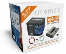 Hifonics MBP1000.4 Musik Anlage Bass + Verstärker + Kabel HiFi Set Komplett