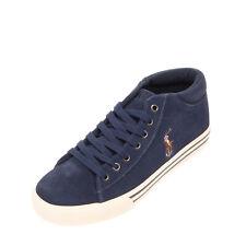 Polo Ralph Lauren Harrison Leather Mid Top Sneakers Size 37 Uk 4.5 Us 5 Logo
