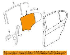 Bmw Oem 14-16 328d xDrive Glass-Rear-Door Window Left 51357259841