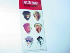 TAYLOR SWIFT 2012 COLLECTIBLE RED GUITAR PICK SET OF 6 -NICE!