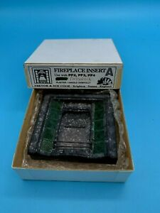 DOLLS' HOUSE MINIATURE - SUE COOK PLASTER FIREPLACE INSERT - boxed