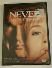 NEVER TALK TO STRANGERS DVD NEW SEALED WIDESCREEN REBECCA DEMORNAY
