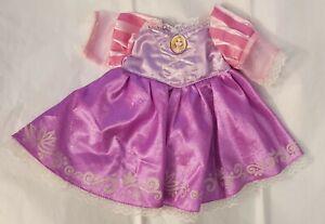 Disney Rapunzel Tangled Build a Bear Princess Dress Gown Teddy Clothes