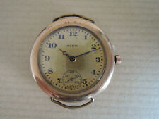 Montre ELGIN 1920 1930 Bates Bacon Royal military watch USA militaire