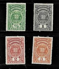 HICK GIRL- MH.  PORTUGAL-MOZAMBIQUE  STAMPS   SC#J31-4  1919 POSTAGE DUE   H1101