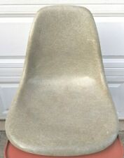 Herman Miller Eames Shell Chair 1959-60 'Flame' ~ Green / Grey