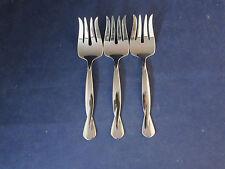 SET OF THREE - Oneida Stainless  Flatware TORSADE Serving Forks