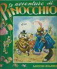 Collodi - Le Avventure di Pinocchio - Lucchi anni '60 - Illustra Galbiati