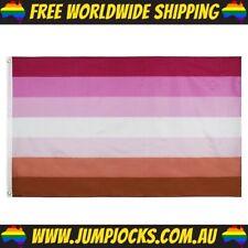 Lesbian Pride Flag - LGBT, Gay, Rainbow *FREE WORLDWIDE SHIPPING*