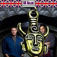 Supernatural Series Dean Winchester Protection Amulet Pendant Necklace UK Seller