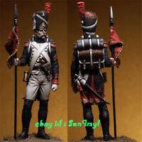1/24 Unpainted Ancient Guard Figure Medieval Resin Model Kits GK Unassembled