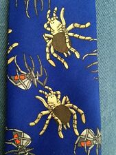 NEW  BOYS 14 IN ZIPPER TIE BUGS AND SPIDERS********SALE******