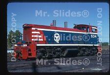 Original Slide BRC Belt Railway of Chicago Bicentennial Paint MP15DC 534-NICE!