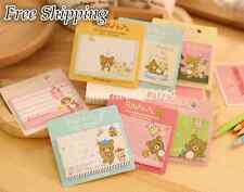 Korean Stationery Happy Bear Removable Adhesive Paper Memo Sticky Notes