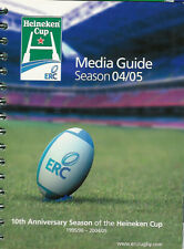 HEINEKEN CUP RUGBY MEDIA GUIDE 2004/5 TOULOUSE WINNERS