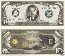 Two Richard M. Nixon 37th U.S. President Money Bills # P37
