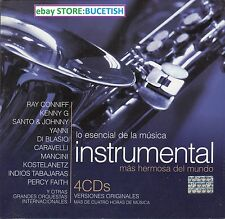 Lo Esencial Instrumental Ray Conniff,Santo& Johnny,Di Blasio,Perdy Faith,Yanni