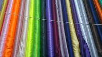 Shiny Satin Fabric/Material - Range of Colours - 150cm wide- 1 full metre