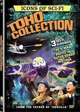 Icons of Science Fiction Toho Collection 3 Dvd Mothra H-Man Japanese Godzilla Ws