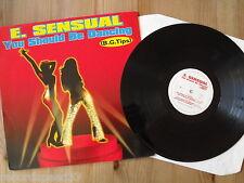 """12"""" - E. SENSUAL - You Should Be Dancing - (x4) BG Tips"""