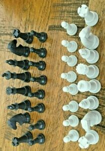 Electronic Kasparov Saitek SPARE Full Set Magnetic Chess Playing Pieces MAGNETIC