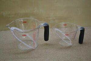 Oxo Good Grips Angled Measuring Cups - 4 Cups & 2 Cups