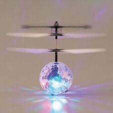 LED RC Fliegender Ball Drohne Kinder Spielzeug Infrarot Induktion Hubschrauber
